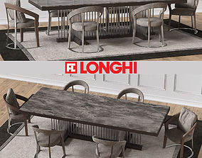 3D SCHUBERT Marble table FRANCES Chairs