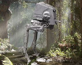 Star Wars ATST Walker - Ready to 3D printable model 3