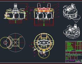 3D model Planetary Mixer