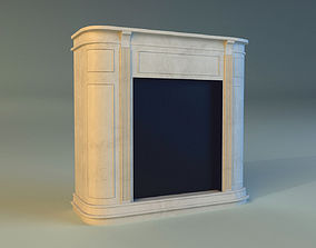 3D room Fireplace