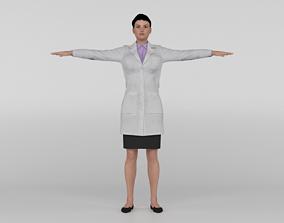 Female Doctor 3D model