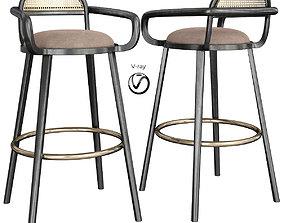 Barchair LUC Bar Chair 3d model VR / AR ready