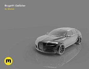 A four-seat concept car - Bugatti 3D printable model 1