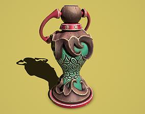 3D model Flower lamp