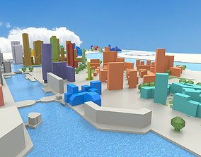 3D asset Isle of Dogs