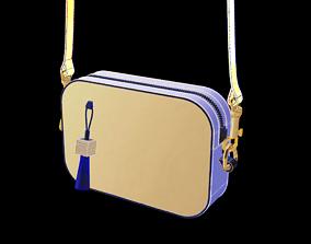 Lavender PVC Mini Cross-body bag 3D model