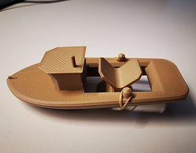 hobby RUBBER BAND BOAT TOY 3D printable model
