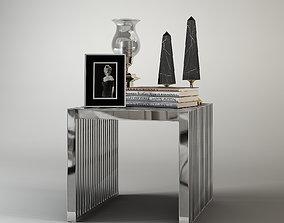 Carlisle Side Table Eichholtz 3D
