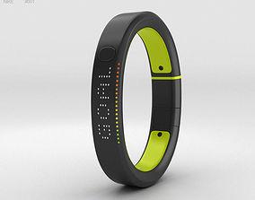 Nike plus FuelBand SE Volt 3D model