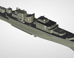 1135 Burevestnik Soviet Russia Krivak Frigate 3D print 1