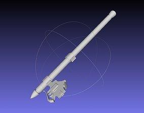 missile Attack On Titan Thunder Spear Model