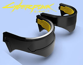 3D print model Collar Cyberpunk 2077 Cosplay without the 1