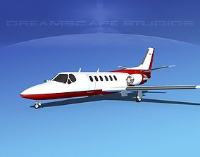 Cessna C550 Citation II V10 3D