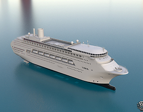 Ship Majestic Princess 3D model