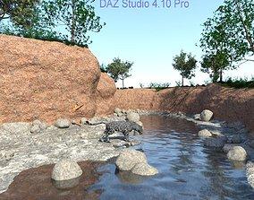 The creek DAZ 3D