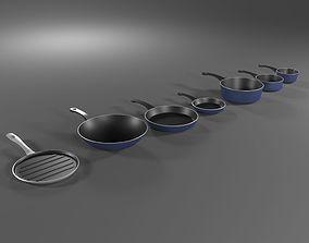 Pan Set 3D model