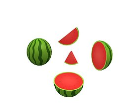 Water Melon 3D model
