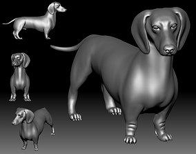 Dutch hound Dachshund 3D printable