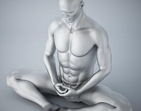 Man yoga 012 3D print model
