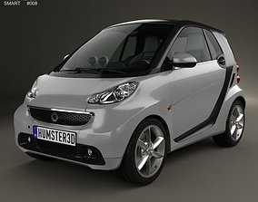 3D model Smart Fortwo coupe 2012
