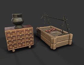 MedievalFurniture 3D asset