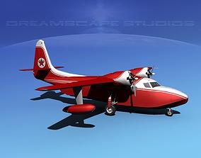 3D model Grumman G-73 Mallard Texaco Oil