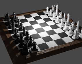 3D model realtime Chess set