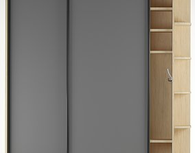 shelf 3D model game-ready Closet