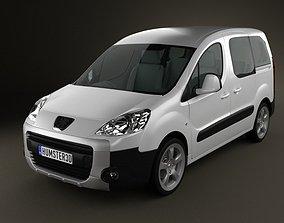 3D model Peugeot Partner Tepee 2011