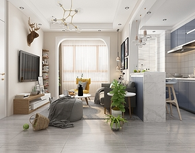 3D Scandinavian Style House - S15 - Idea