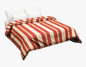 Photorealistic Bed set 013 3D