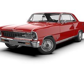 3D model Chevrolet Nova SS 1966