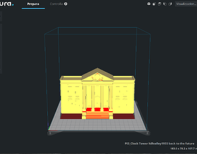 Clock Tower hillvalley1955 back to the 3D printable model