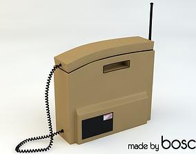 Retro Mobile Brick Phone 3D