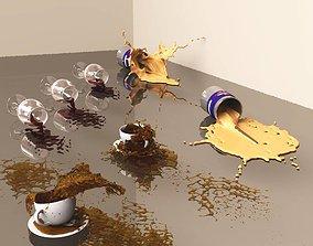 3D model Simple Spills