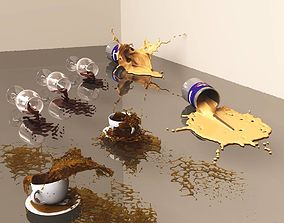 Simple Spills 3D fluid