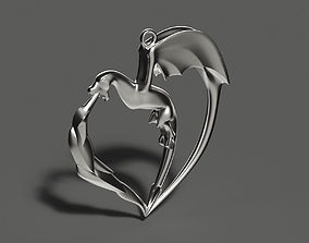 Coulomb 3D printable model jewelry