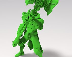 3D printable model armored men