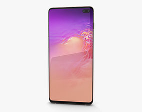 Samsung Galaxy S10 Plus Flamingo Pink 3D