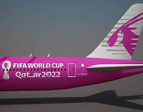 World Cup Qatar 2022TM Aircraft 3D