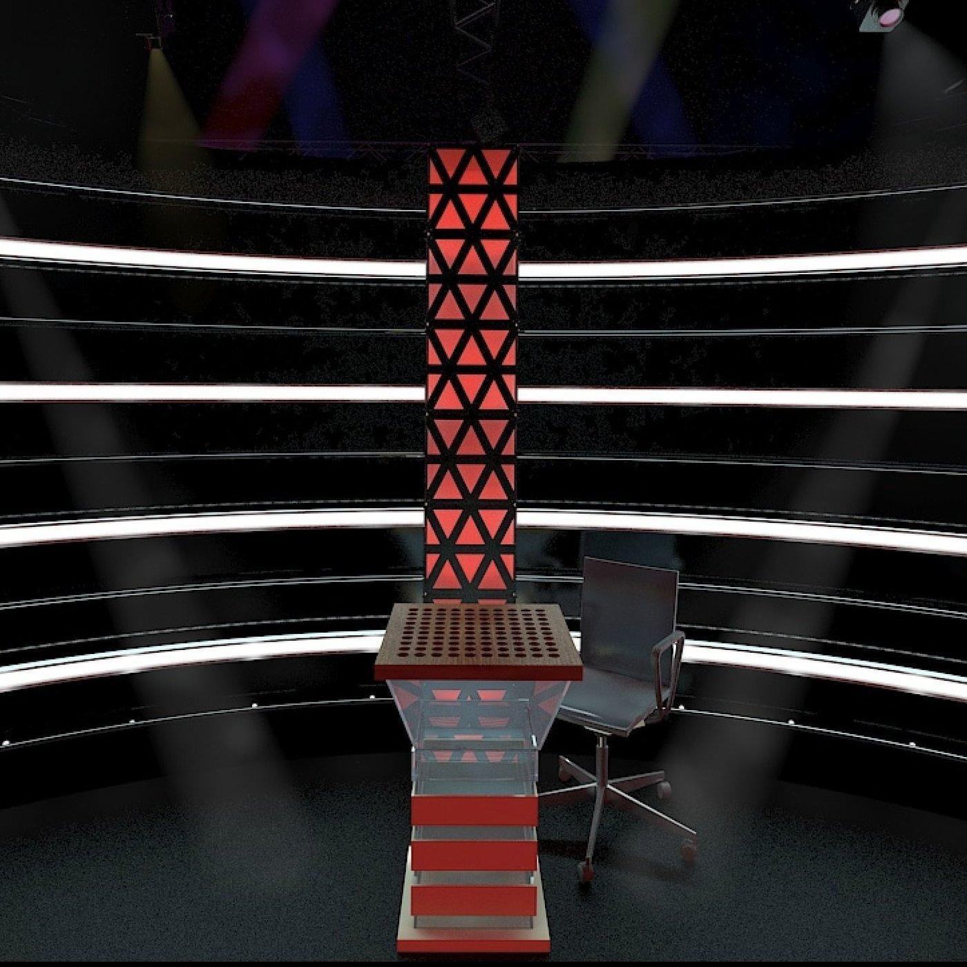 Virtual TV Studio Set