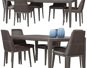 Chair Natuzzi Vesta 3D model