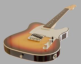 3D model Electric Guitar Telecaster
