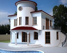3D Duplex Villa