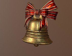 3D asset realtime Christmas Bell