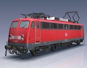 3D asset BR 110 Locomotive
