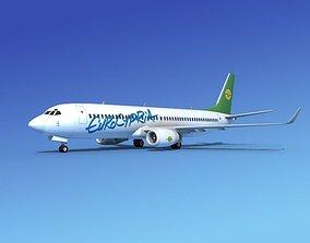 3D Boeing 737-800 Euro Cypria