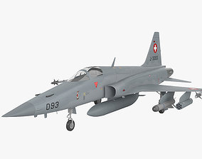 3D model Northrop F-5