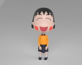 3D print model Chibi Maruko Chan Skirt and Sweater
