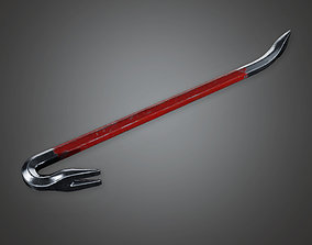 Crowbar and Tape BHE - PBR Game Ready 3D asset